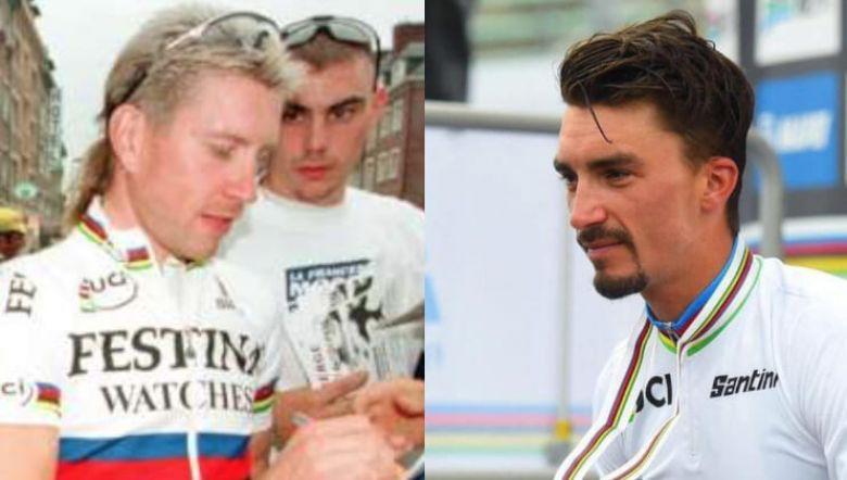 Julian Alaphilippe sacré champion du monde de cyclisme en Italie