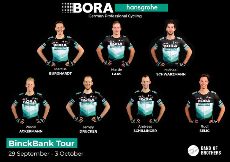 BinckBank Tour - BORA-hansgrohe avec Ackermann et Burghardt