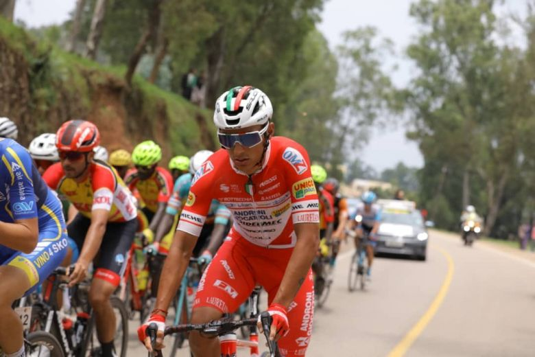 Tour d'Italie - Androni Giocatolli-Sidermec avec Restrepo et Pellaud