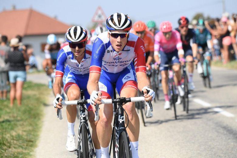 BinckBank Tour - La formation Groupama-FDJ autour de Stefan Küng
