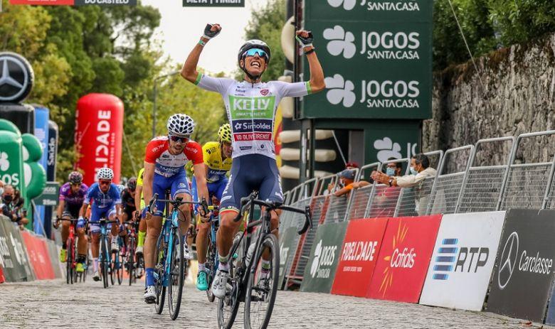 Tour du Portugal - Luis Gomes gagne la 1ère étape, Cesar Veloso 3e