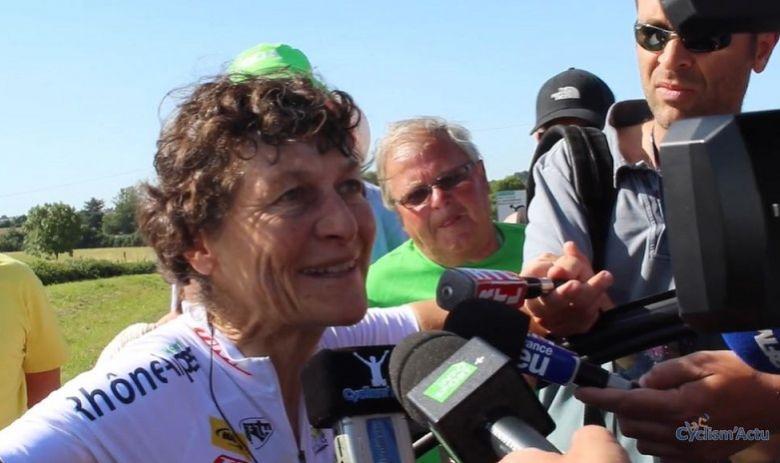 Route - Jeannie Longo sacrée championne PACA du chrono à 61 ans !