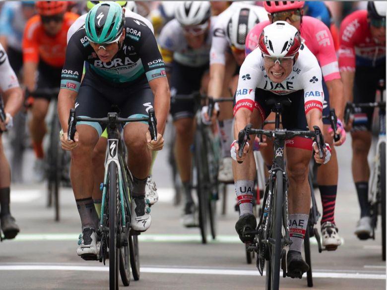 BinckBank Tour - Pascal Ackermann : «J'ai lancé mon sprint trop tôt»