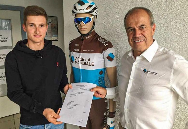 Transfert - Anthony Jullien rejoint AG2R La Mondiale pour 2 saisons