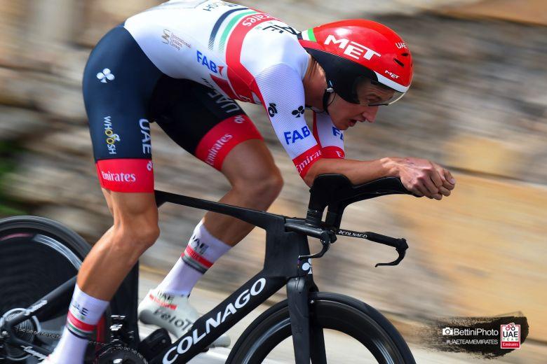Tour d'Italie - Mikkel Bjerg 3e : «Ganna était à un autre niveau»