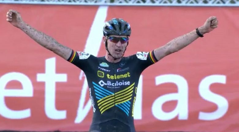 Cyclo-cross - Toon Aerts et Lucinda Brand gagnent le Polderscross