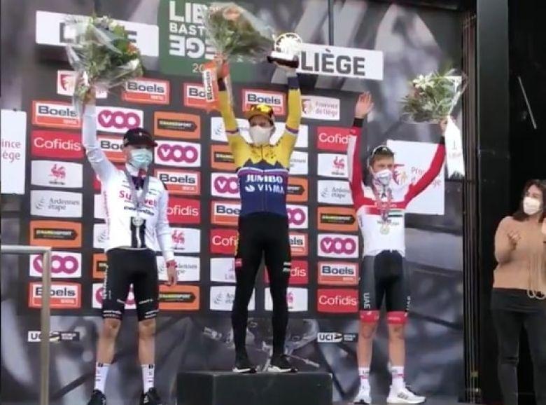 Liège-Bastogne-Liège - Roglic : «Je voulais remporter un Monument»