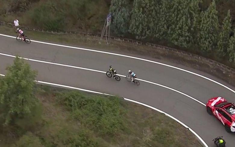 Tour d'Italie - Après Geraint Thomas, Simon Yates distancé !
