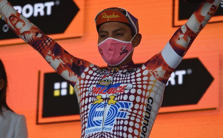 Tour d'Italie - Jonathan Caicedo : «C'est un rêve devenu réalité»
