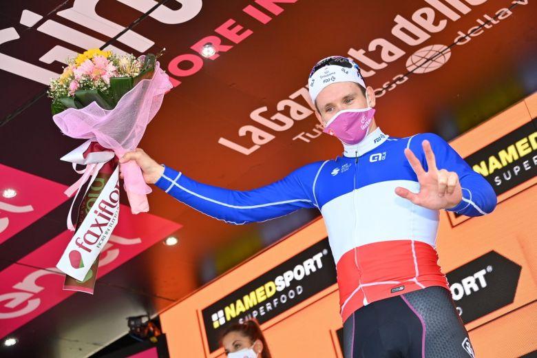 Tour d'Italie - Arnaud Démare : «J'ai une équipe de ouf... !»