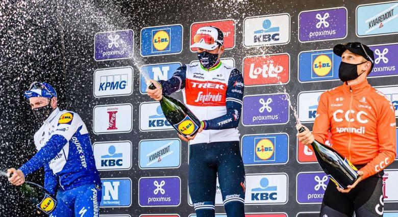 Gand-Wevelgem - Pedersen : «Mon titre mondial, pas que de la chance»