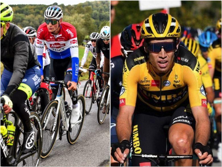 Gand-Wevelgem - Van der Poel : «Je n'ai pas fait perdre Van Aert...»