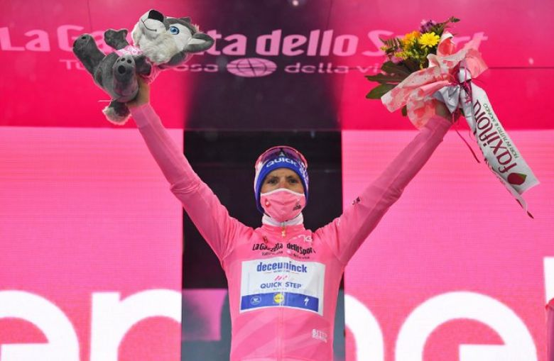 Tour d'Italie - Joao Almeida ne pense pas «pouvoir gagner le Giro»
