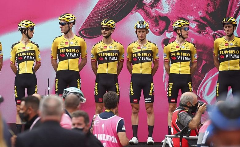 Tour d'Italie - Kruijswijk positif au Covid, la Jumbo-Visma se retire