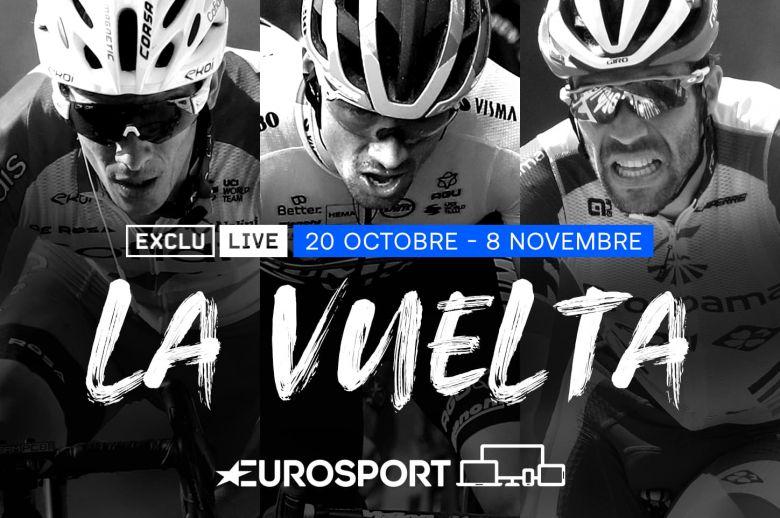 Tour d'Espagne - Le dernier Grand Tour de la saison est sur Eurosport
