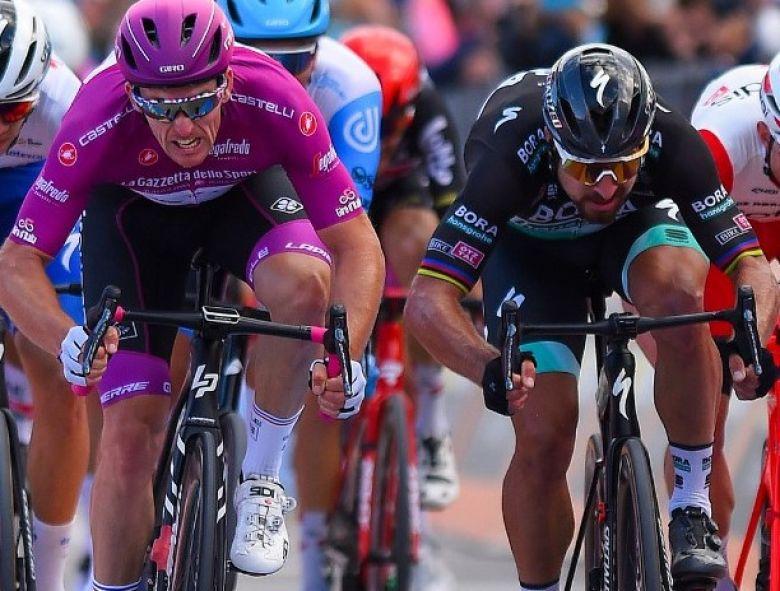 Tour d'Italie - Peter Sagan 2e : «J'ai fait de mon mieux au sprint»