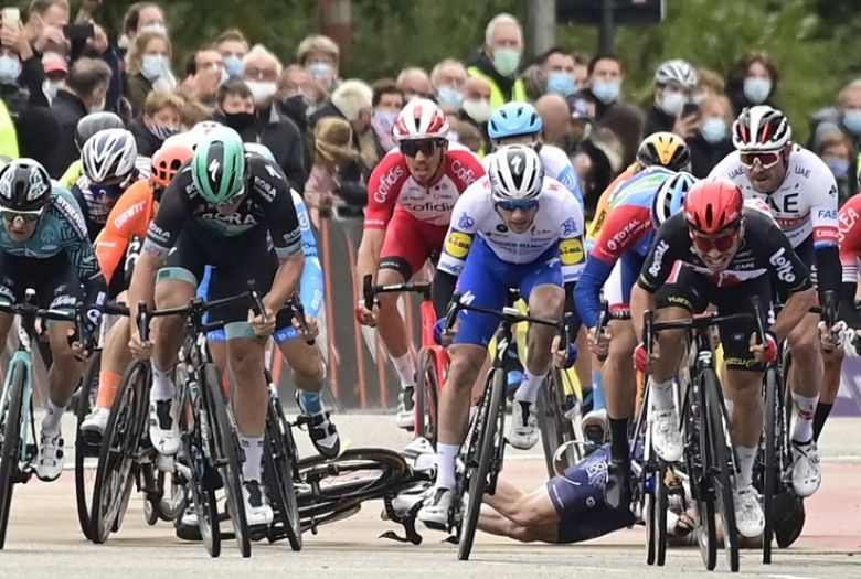 GP de l'Escaut - Radochla sur Ackermann : «Ça a été mal jugé...»
