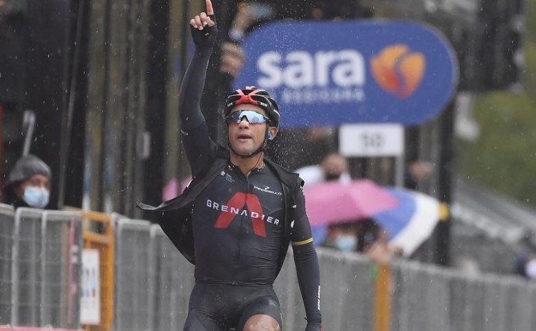 Tour d'Italie - Jhonatan Narvaez offre un 3e succès à INEOS Grenadiers