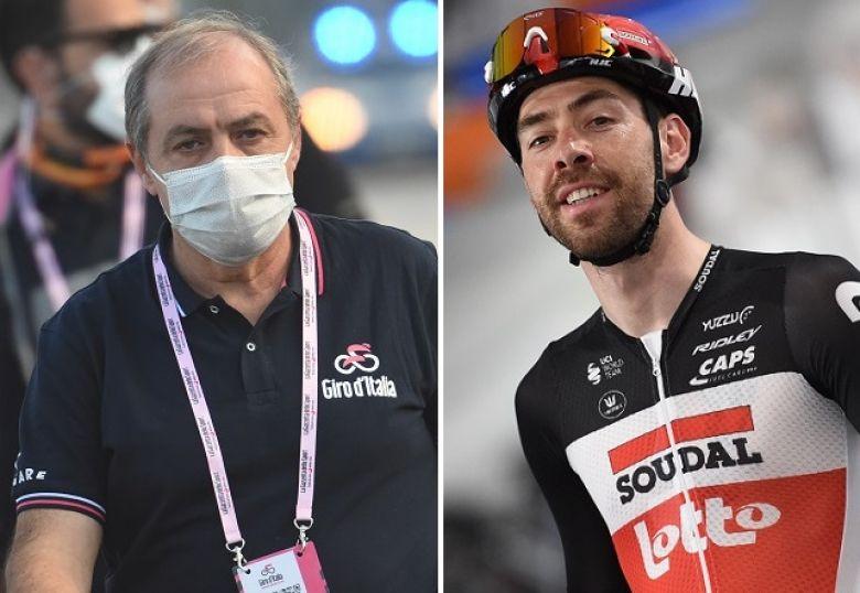 Tour d'Italie - Vegni : «Ce que dit Thomas De Gendt est très grave !»
