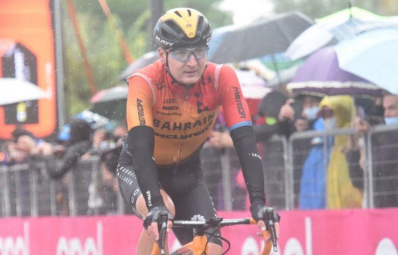 Tour d'Italie - Padun : «Difficile d'être heureux après une 2e place»