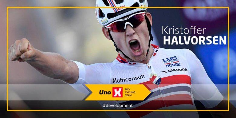Transfert - Kristoffer Halvorsen de retour chez Uno-X Pro Cycling