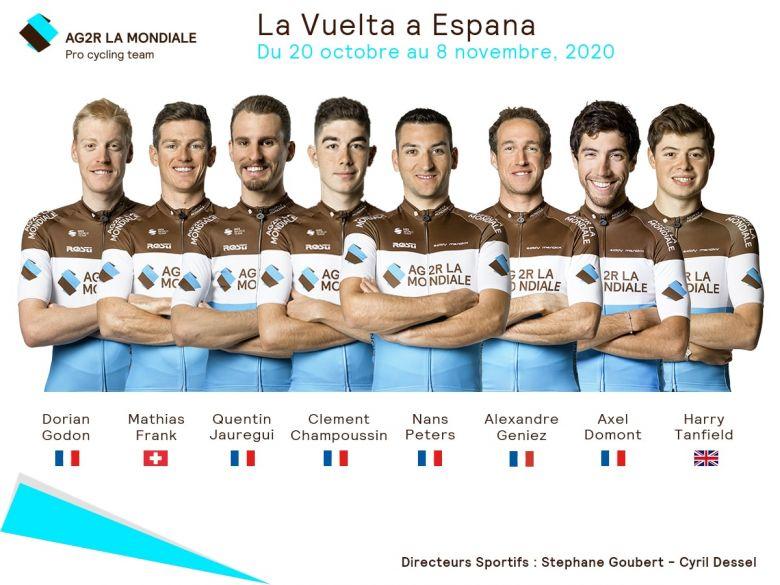 Tour d'Espagne - Peters, Geniez... AG2R La Mondiale visera les étapes