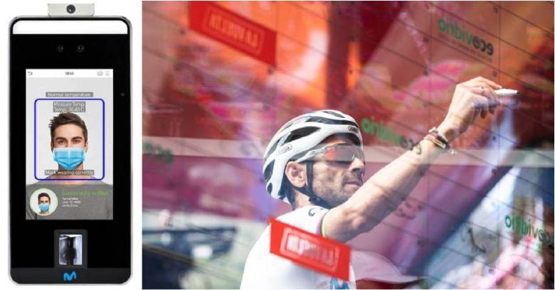 Tour d'Espagne - La reconnaissance faciale à la place de la signature