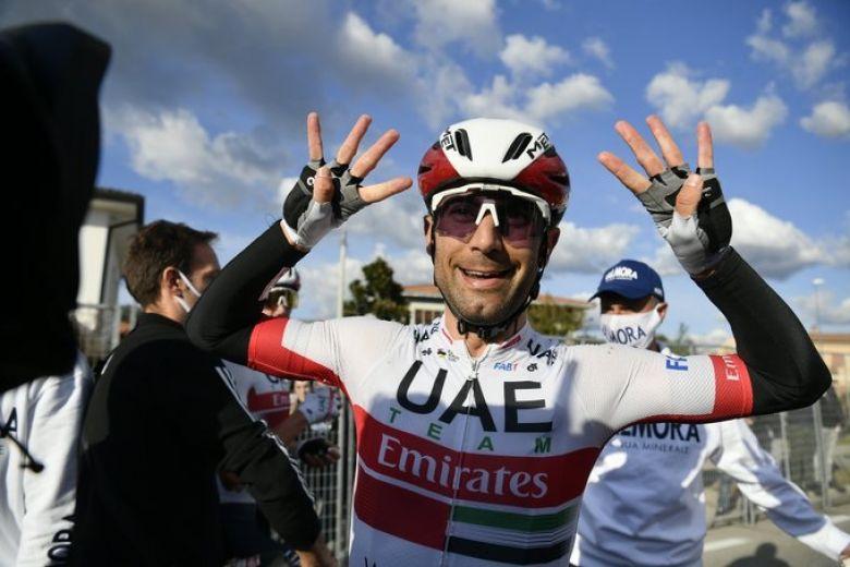 Tour d'Italie - Ulissi : «Nous avions de bonnes chances au sprint»