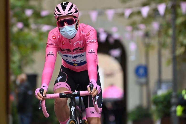 Tour d'Italie - Joao Almeida : «L'objectif était la victoire d'étape»