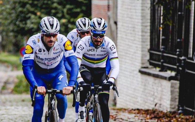 Tour des Flandres - Julian Alaphilippe : «On sait pourquoi on est ici»