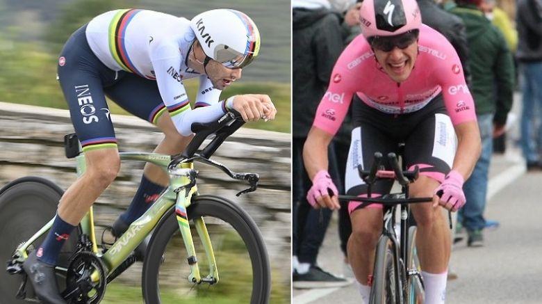 Tour d'Italie - Ganna intouchable, Almeida conforte son maillot rose