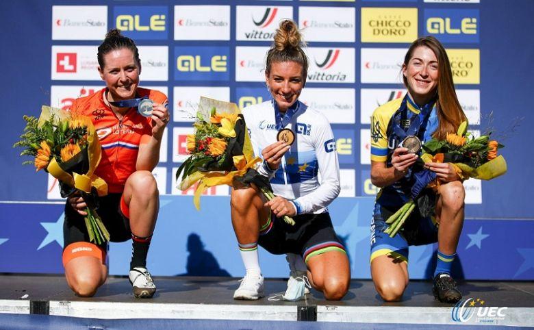VTT- Europe - PFP : «Je n'avais jamais été championne d'Europe... »