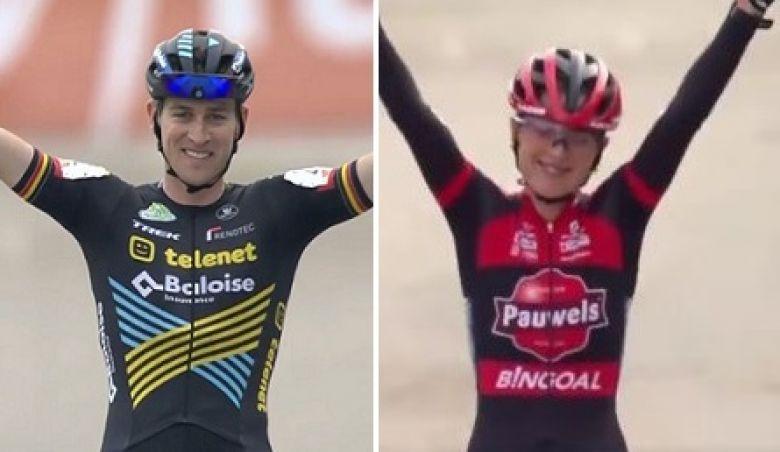 Cyclo-cross - Toon Aerts et Denise Betsema s'imposent à Beringen