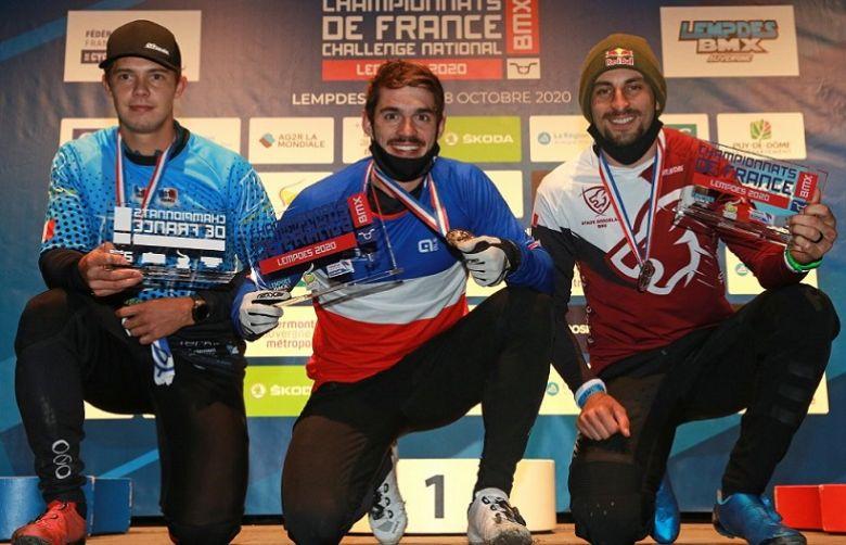 BMX - Sylvain André et Axelle Etienne sacrés champions de France
