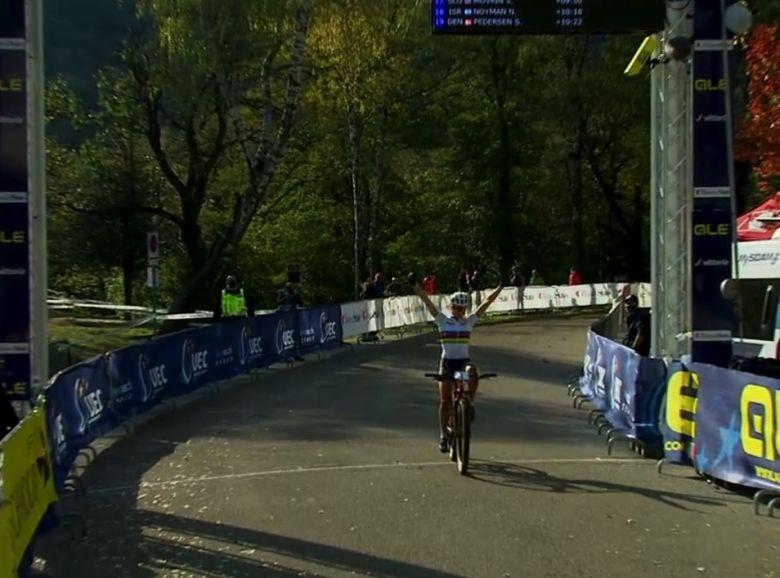 VTT - Europe - Loana Lecomte décroche l'or dans la course espoirs