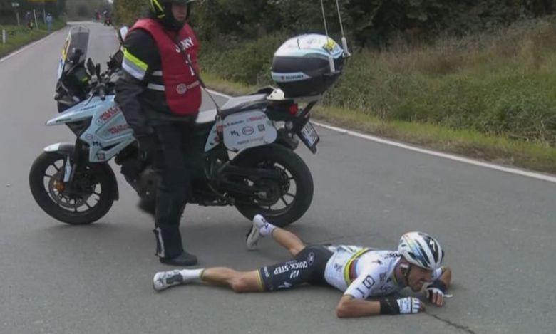 Tour des Flandres - Le motard «s'excuse» : «Je me sens coupable... »