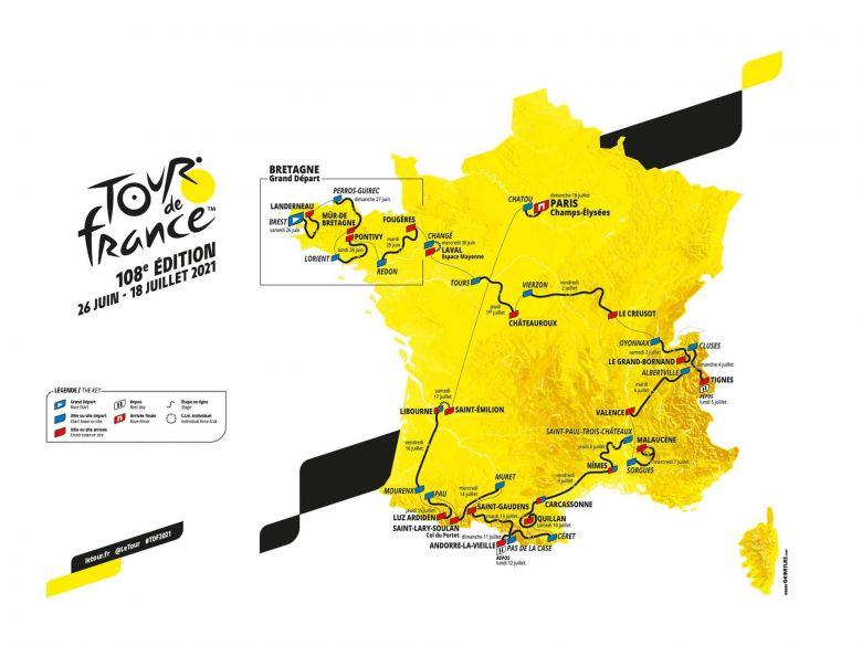 Tour de France - J-6 avant le Grand Départ du 108e Tour de France !