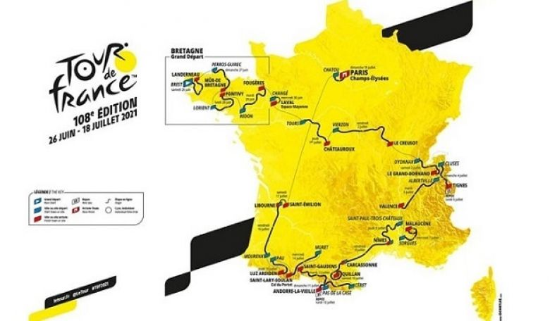 Tour de France - J-173 avant le Grand Départ du Tour de France 2021
