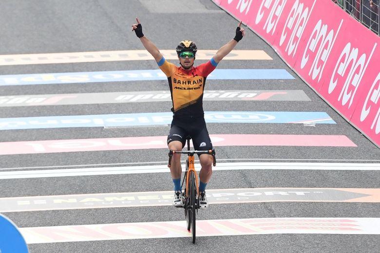 Tour d'Italie - Le beau numéro de Jan Tratnik, Geoffrey Bouchard 7e