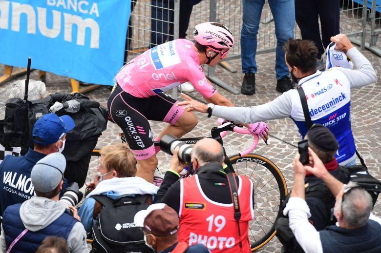 Tour d'Italie - Joao Almeida : «La meilleure défense, c'est l'attaque»