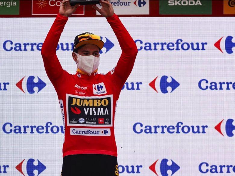 Tour d'Espagne - Primoz Roglic, déjà leader : «Je vais savourer... »