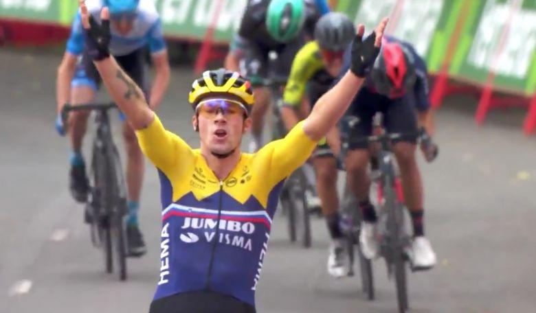 Tour d'Espagne - Roglic et Carapaz... le résumé de la 1ère étape