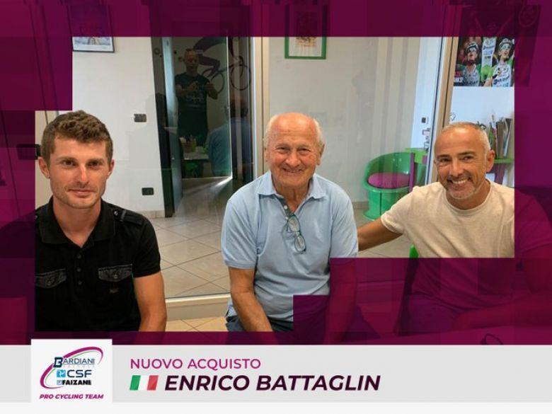 Transfert - Enrico Battaglin de retour chez Bardiani-CSF Faizanè