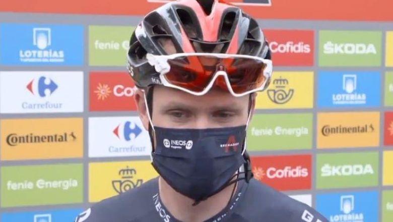 Tour d'Espagne - Froome à la peine : «Une manière de prendre du recul»