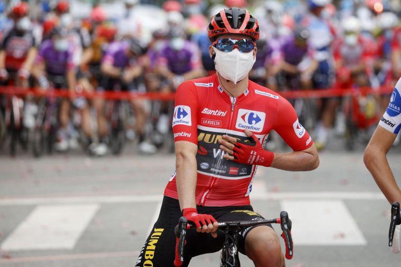 Tour d'Espagne - Roglic : «L'équipe Movistar jouait à domicile... »