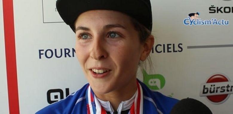 France - CLM - Juliette Labous sacrée dans la catégorie espoirs