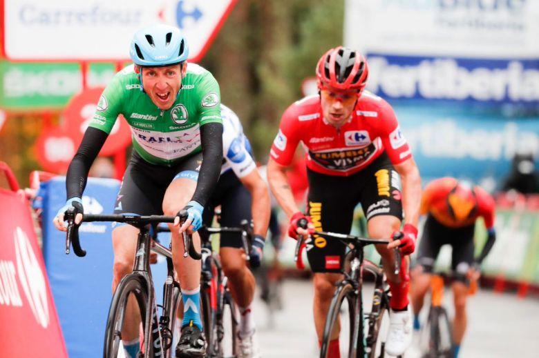 Tour d'Espagne - Dan Martin gagne en puncheur devant Roglic et Carapaz
