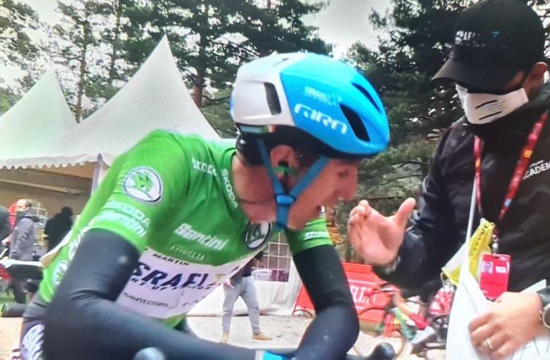 Tour d'Espagne - Dan Martin : «Cette victoire est aussi pour ma femme»