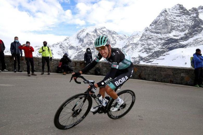 Tour d'Italie - Konrad : «Une bonne journée pour moi dans l'ensemble»
