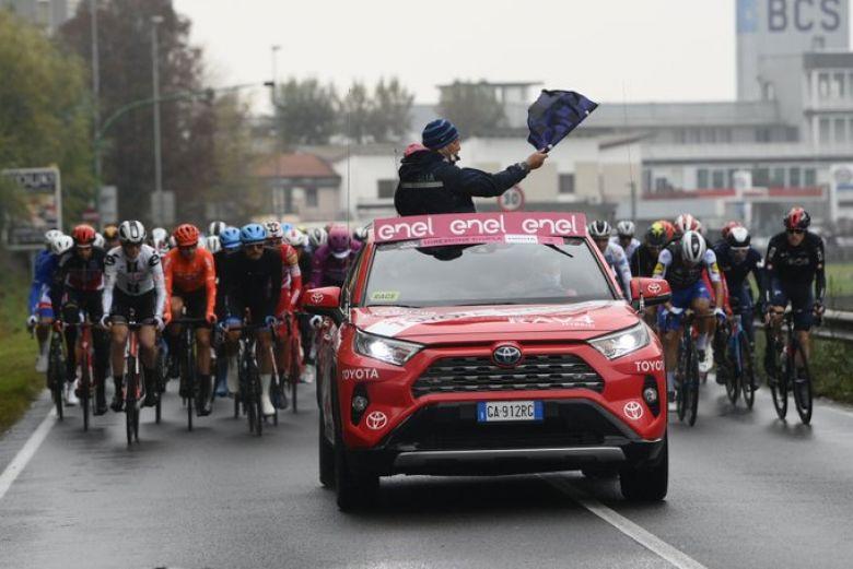Tour d'Italie - LIVE VIDEO Avec 4h de retard, la 19e étape est partie